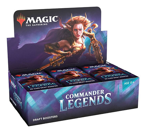 MTG -  Commander Legends Draft Booster Display