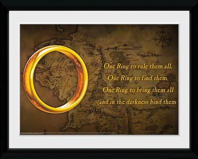 Lord of The Rings - Framed Artwork