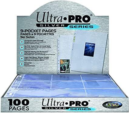 Ultra pro 9 - pocket page