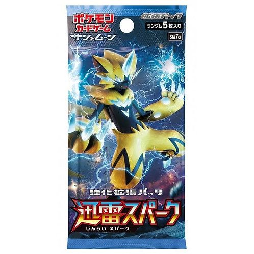 Pokemon - Japanese - Tunderclap Booster Pack