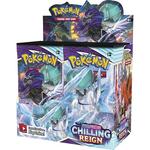 Pokemon TCG: Sword & Shield 6 Chilling Reign Booster Pack/Box