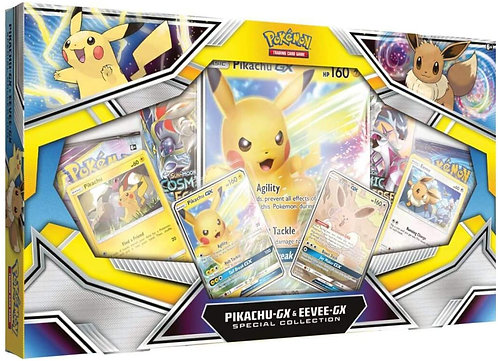 Pikachu & Eevee GX Special collection