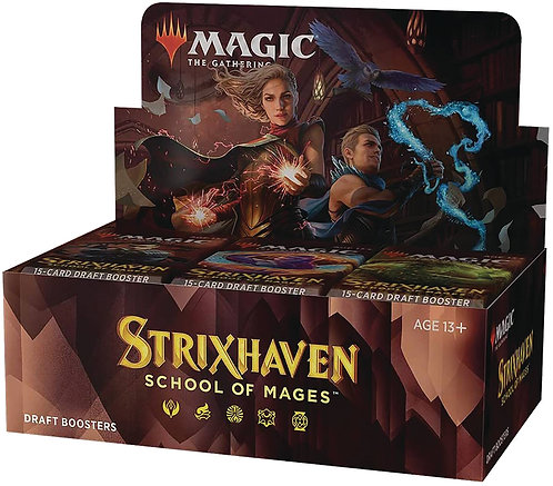MTG: Strixhaven School of Mages Draft Booster Box (36 packs)