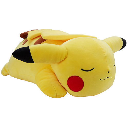 "Giant 18"" Sleeping Pikachu plushie"