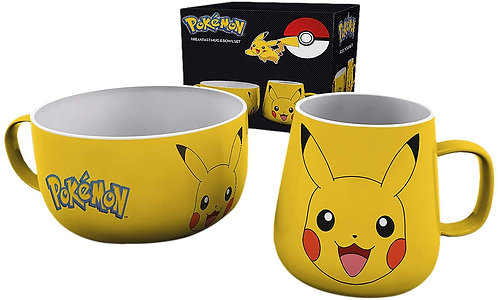 Pokemon breakfast set - Pikachu