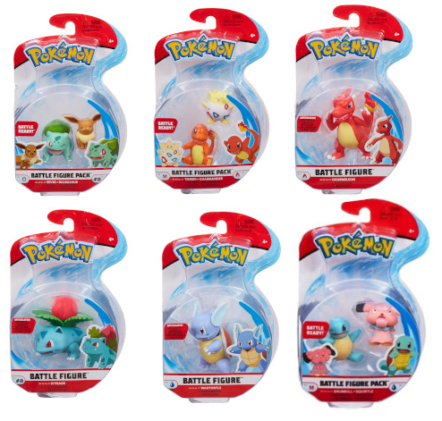 Pokemon - Battle Figure Pack