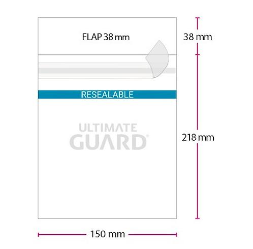 jumbo size resealable sleeves