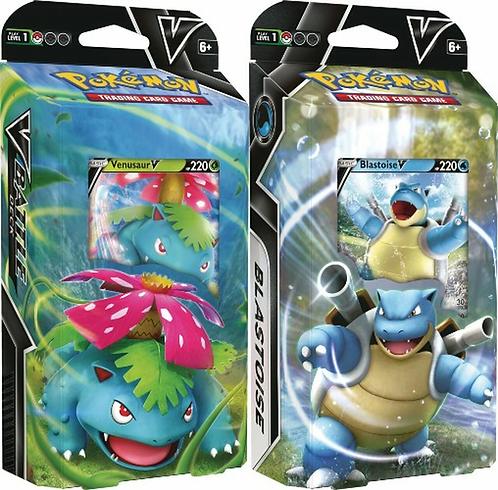 Pokémon TCG: Venusaur V / Blastoise V Battle Decks