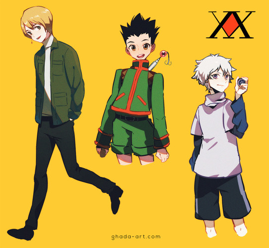 Kurapika, Gon, Killua - Hunter x Hunter