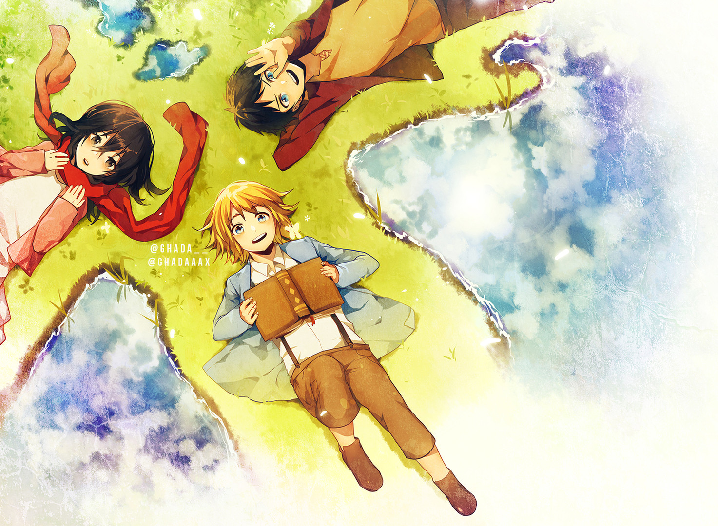 Trio - Attack on Titans