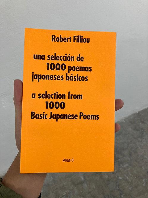 Una selección de1000 poemas japoneses básicos - Robert Filliou