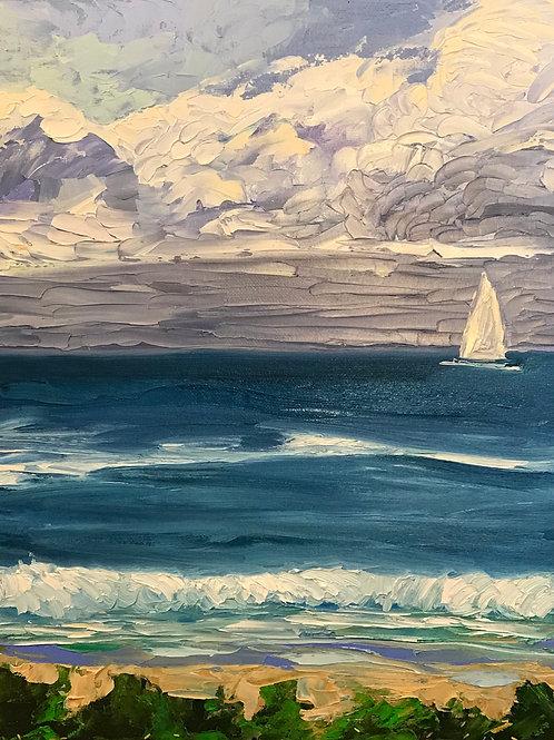 Sailing Kauai