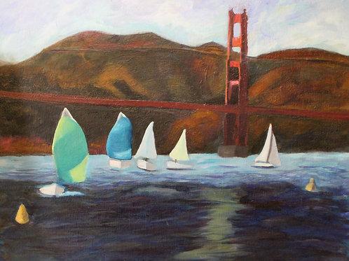 San Francisco Sailboats