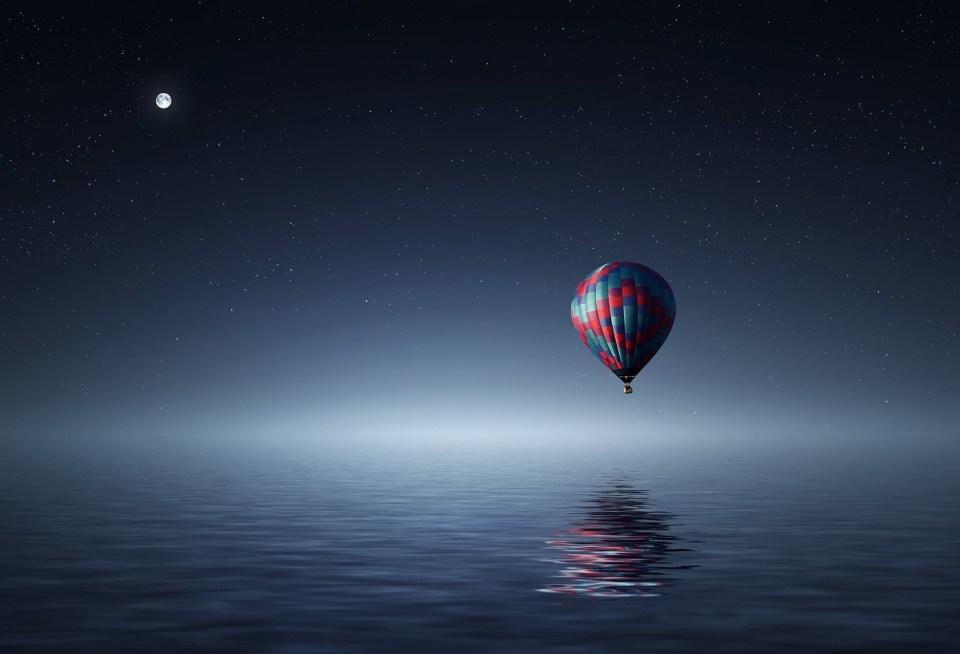 Salutation à la lune