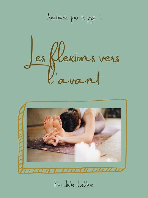 Ebook : Anatomie pour le yoga - les flexions vers l'avant