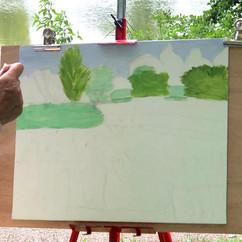 Stage Peinture en plein air