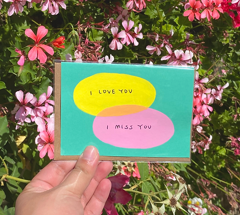 ILY/IMY card
