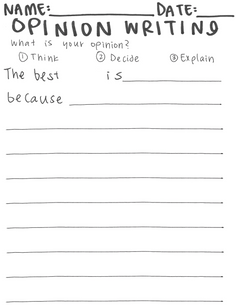 opinion writing the best is BLANK.png
