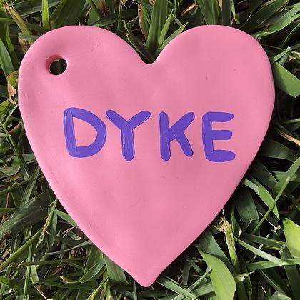 D*KE ornament
