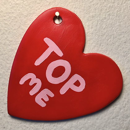 TOP ME ornament