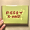 Thumbnail: MERRY XMAS card