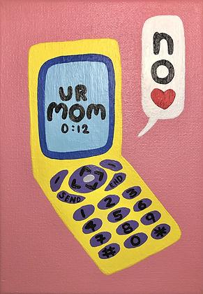 UR MOM painting