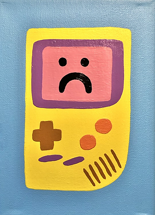 GAMEBOY 2020 painting