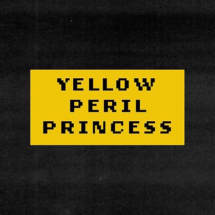 YELLOW PERIL PRINCESS sticker