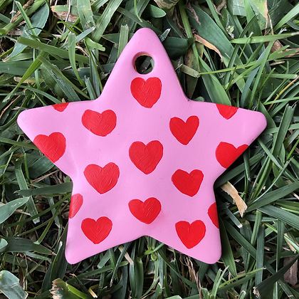 HEARTS + STARS ornament