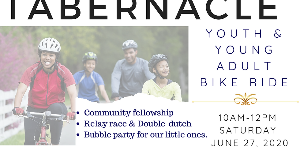 THE TABERNACLE  Youth & Young Adult Bike Ride