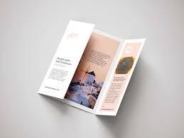 Trifold Brochure / Menu