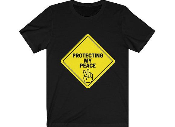 Protecting My Peace Unisex Jersey Short Sleeve Tee