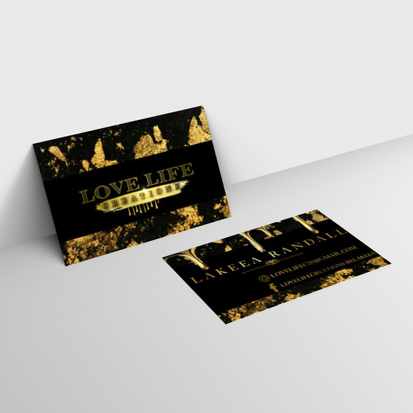 100% Customized Business Cards