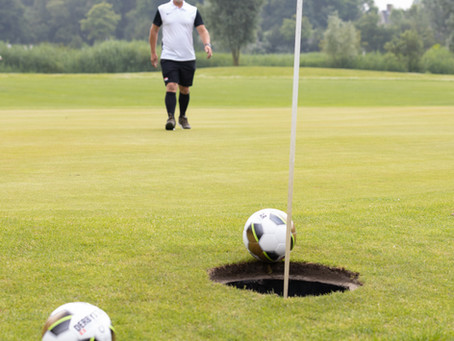 Duivenvoorde blij met opening FootGolfbaan
