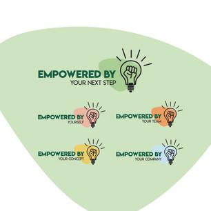 Logo ontwerp voor EMPOWERED BY