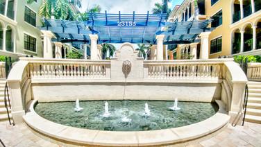 Gated Community Pool Entrance