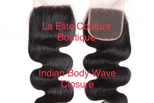 Indian Mink Body Wave Closure