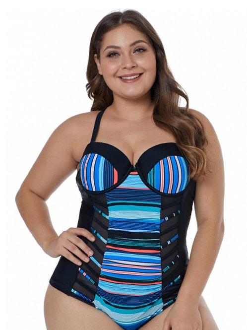 One piece curve me swimwear