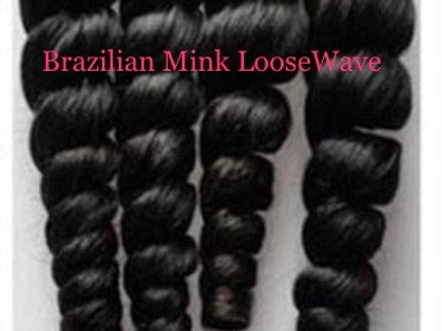 Brazilian Loose Wave mink