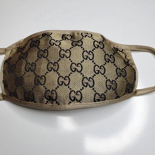 Face Mask Luxury GG inspired design