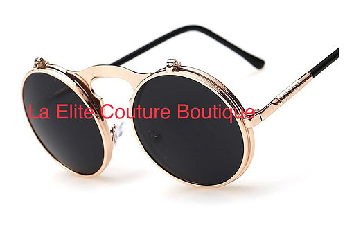 Diva Gold tone sunglasses