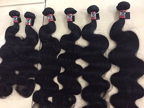 Malaysian Mink Body Wave Bundle deals with Closure