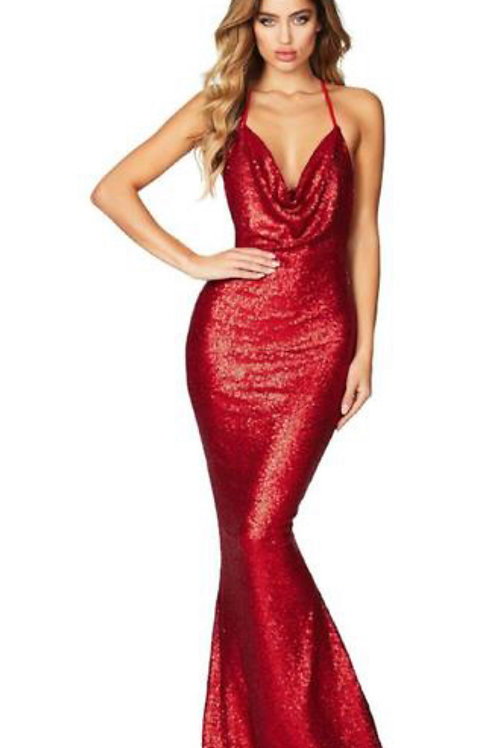 NiFa Seduce Sequin Gown