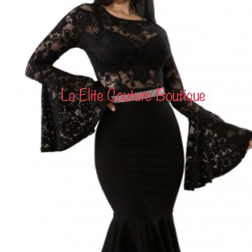 Black Stunning head turning dress