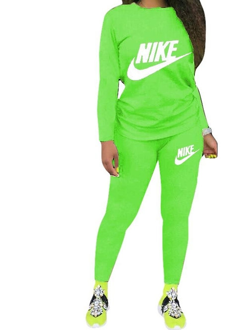 Nike Green two piece