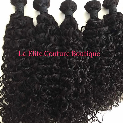 Brazilian Natural Curly Mink Hair