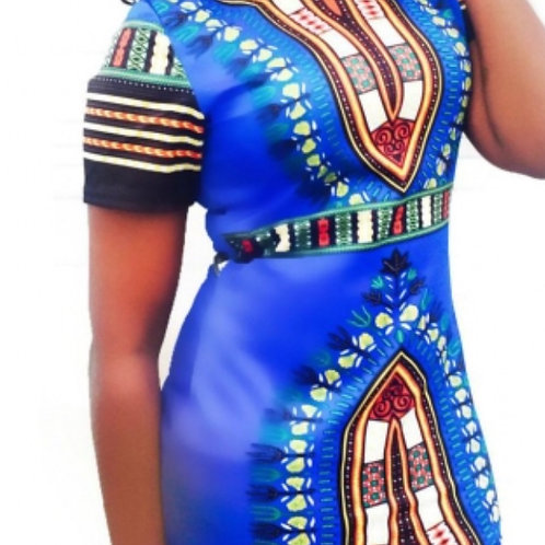 Dashiki BodyCon Dress