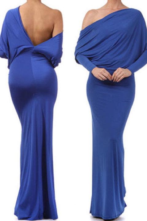 Convertible Multiway Jersey Maxi Dress