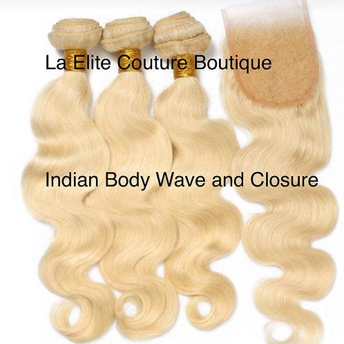 Indian Mink Body Wave 613 Bundle Deal