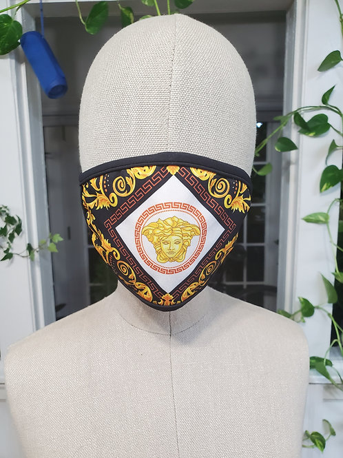 Face mask Versace design